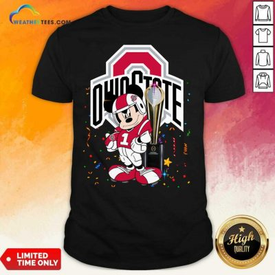 Mickey Mouse Ohio State Buckeyes Shirt - Design By Weathertees.com