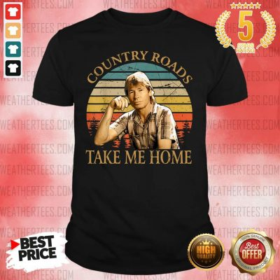 Country Roads Take Me Home Vintage Shirt - Design By Weathertees.com
