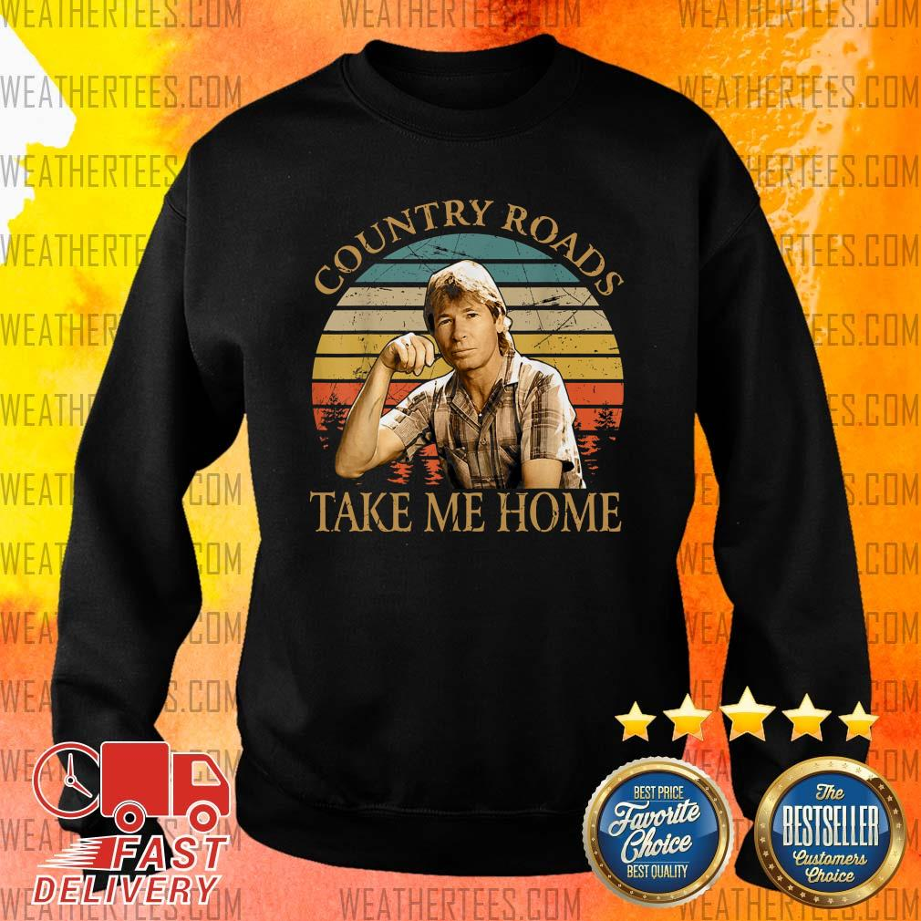 Country Roads Take Me Home Vintage Sweater - Design By Weathertees.com