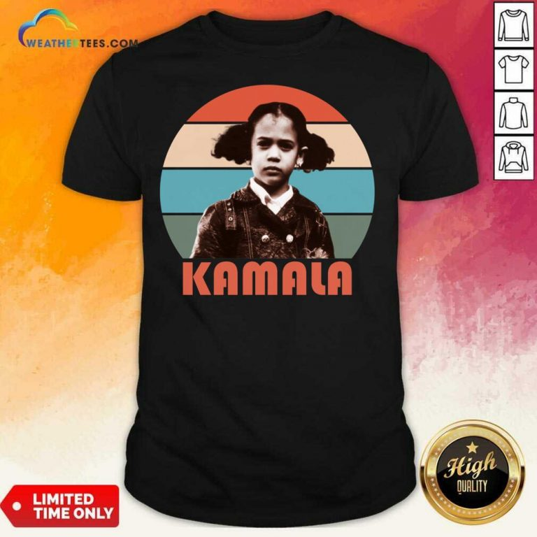 Kamala Harris That Little Girl Vintage Shirt - Design By Weathertees.com