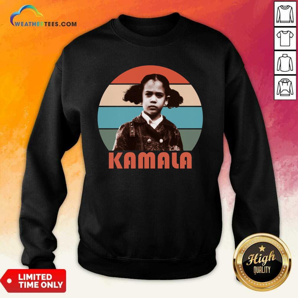 Kamala Harris That Little Girl Vintage Sweatshirt - Design By Weathertees.com