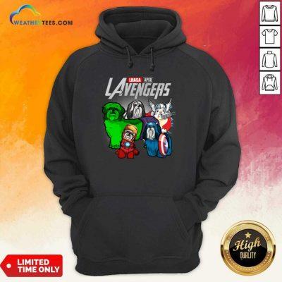 Lhasa Apso Marvel Avengers LAvengers Hoodie - Design By Weathertees.com