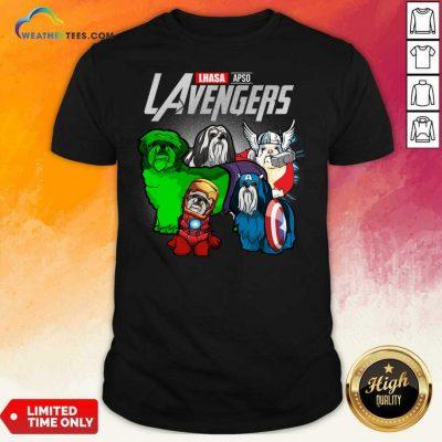 Lhasa Apso Marvel Avengers LAvengers Shirt - Design By Weathertees.com