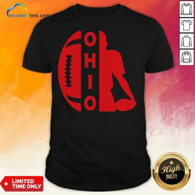 Ohio OH State Football Vintage Athletic Style Shirt - Design By Weathertees.com