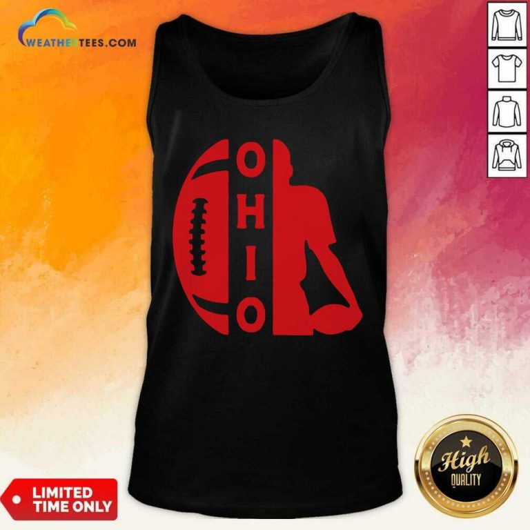Ohio OH State Football Vintage Athletic Style Tank Top - Design By Weathertees.com