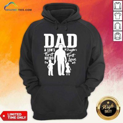 Proud Dad Of Twins Hoodie - Design By Weathertees.com