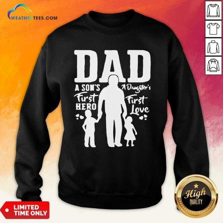 Proud Dad Of Twins Sweatshirt - Design By Weathertees.com