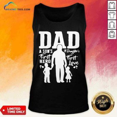 Proud Dad Of Twins Tank Top - Design By Weathertees.com