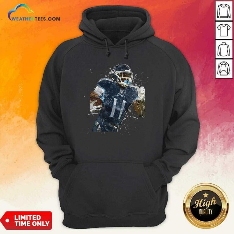 Tennessee Titans Football Player 11 NFL Playoffs Hoodie - Design By Weathertees.com