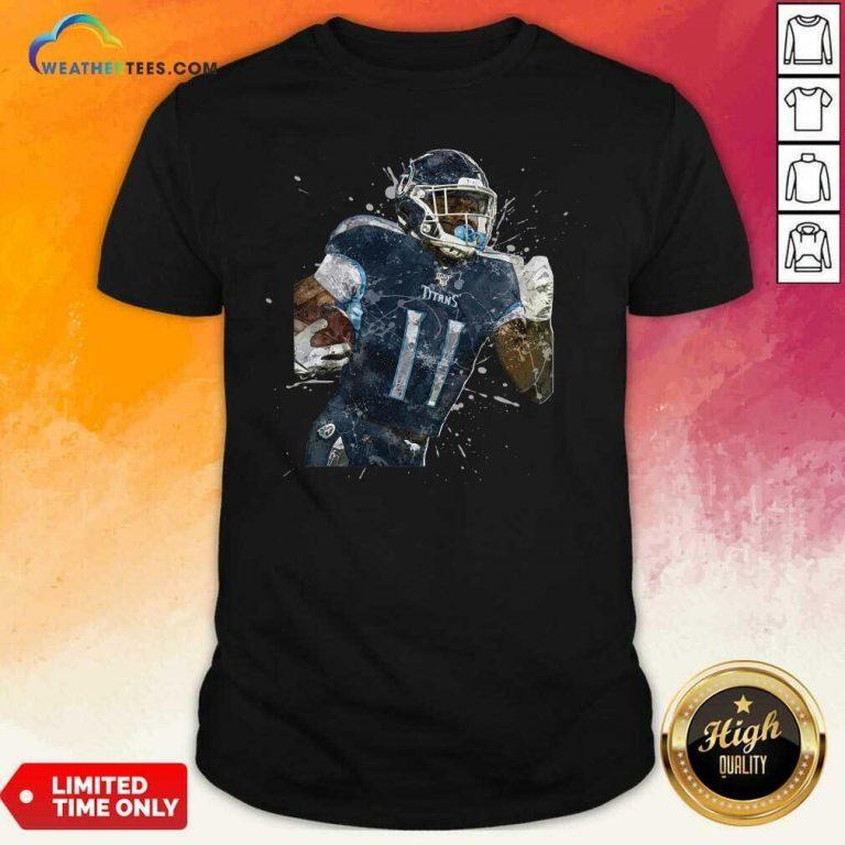 Tennessee Titans Football Player 11 NFL Playoffs Shirt - Design By Weathertees.com