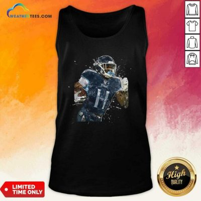 Tennessee Titans Football Player 11 NFL Playoffs Tank Top - Design By Weathertees.com