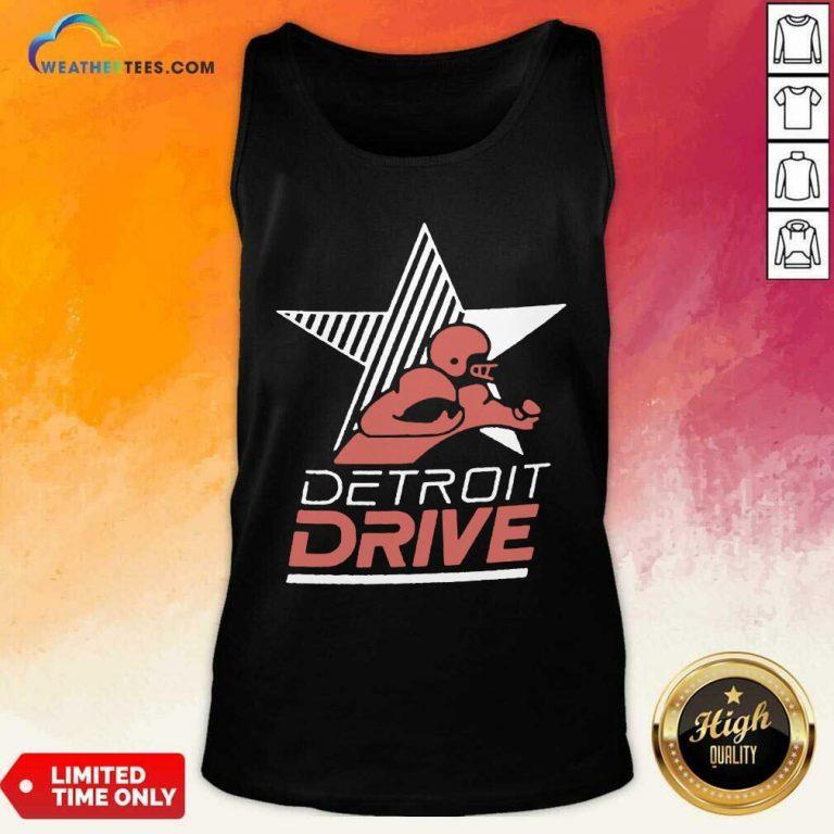 Detroit Drive Tank Top - Design By Weathertees.com