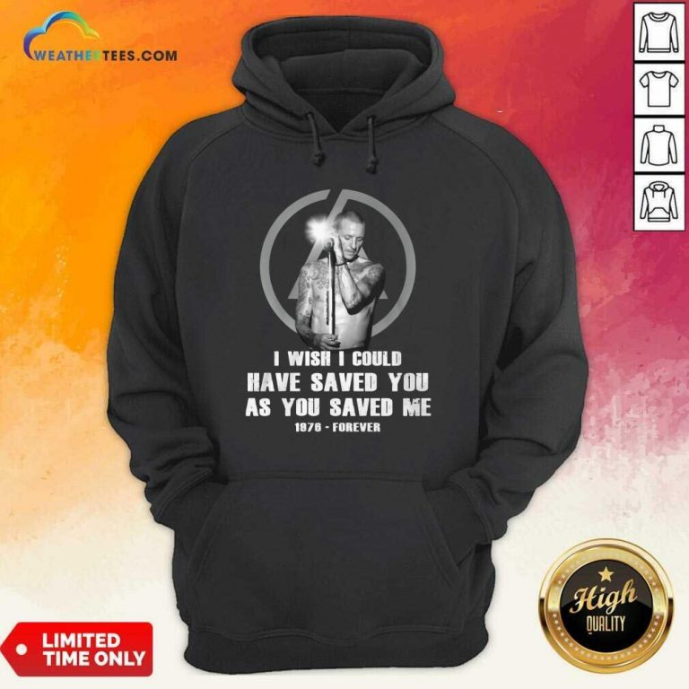 I Wish I Could Have Saved You As You Saved Me 1876 Forever Hoodie - Design By Weathertees.com