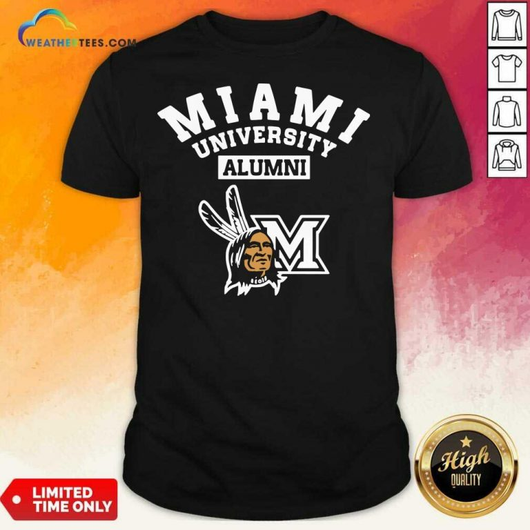 Miami University Alumni Shirt - Design By Weathertees.com