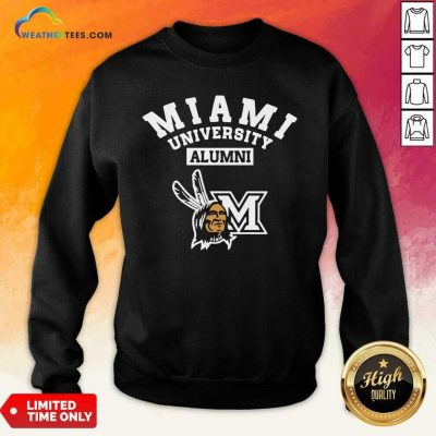 Miami University Alumni Sweatshirt - Design By Weathertees.com