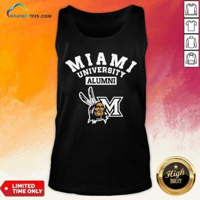 Miami University Alumni Tank Top - Design By Weathertees.com