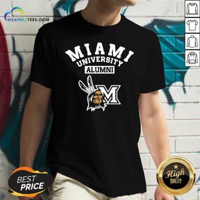 Miami University Alumni V-neck - Design By Weathertees.com