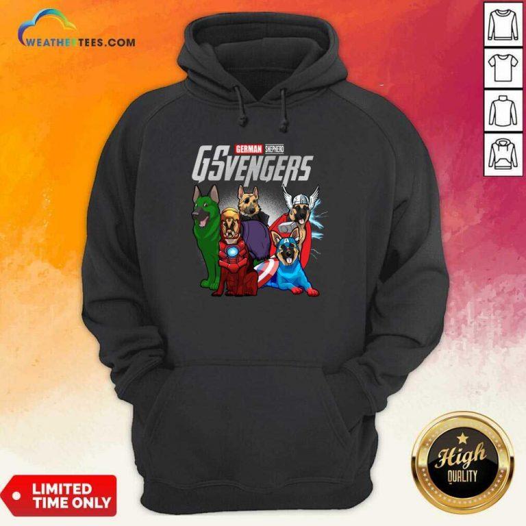 Marvel Avengers German Shepherd Gsvengers Hoodie - Design By Weathertees.com
