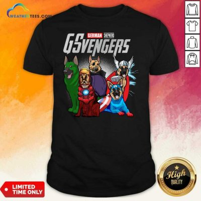 Marvel Avengers German Shepherd Gsvengers Shirt - Design By Weathertees.com