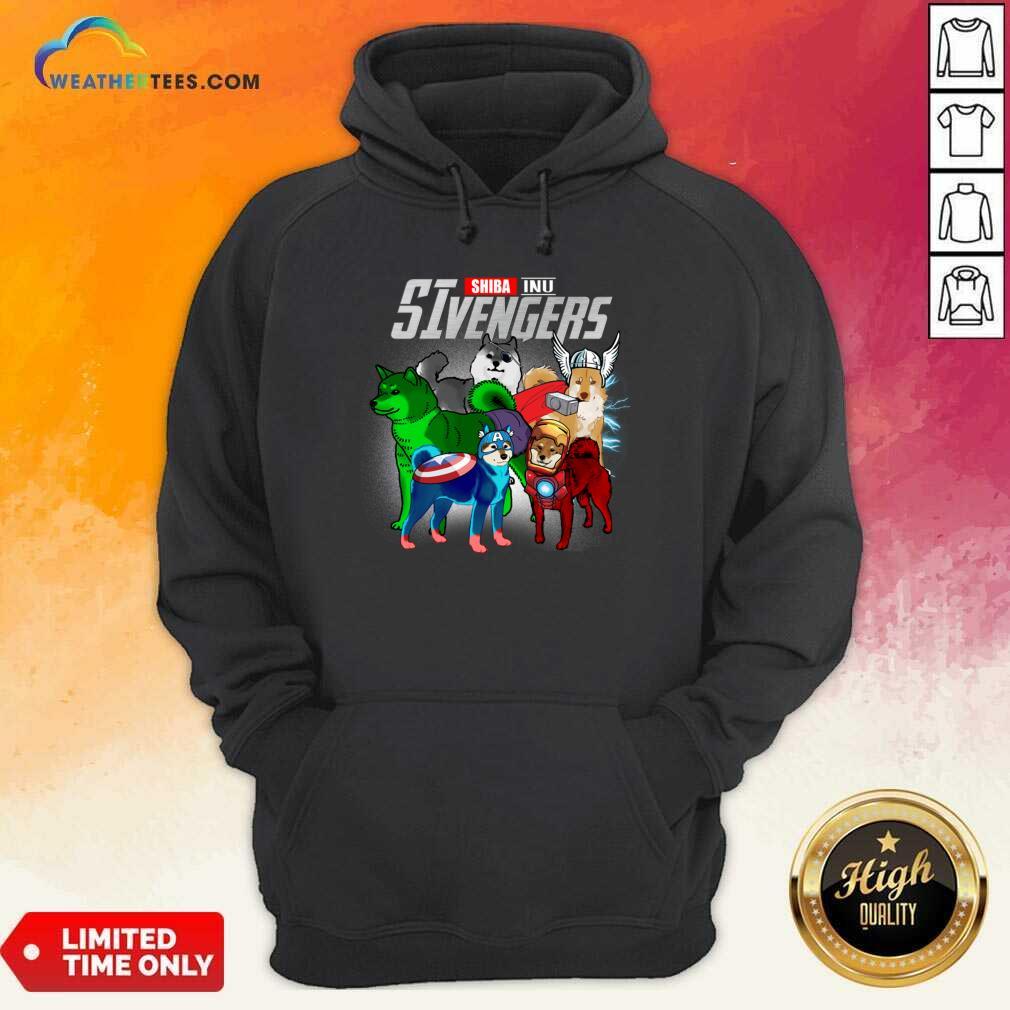 Shiba Inu Marvel Avengers SIvengers Hoodie - Design By Weathertees.com
