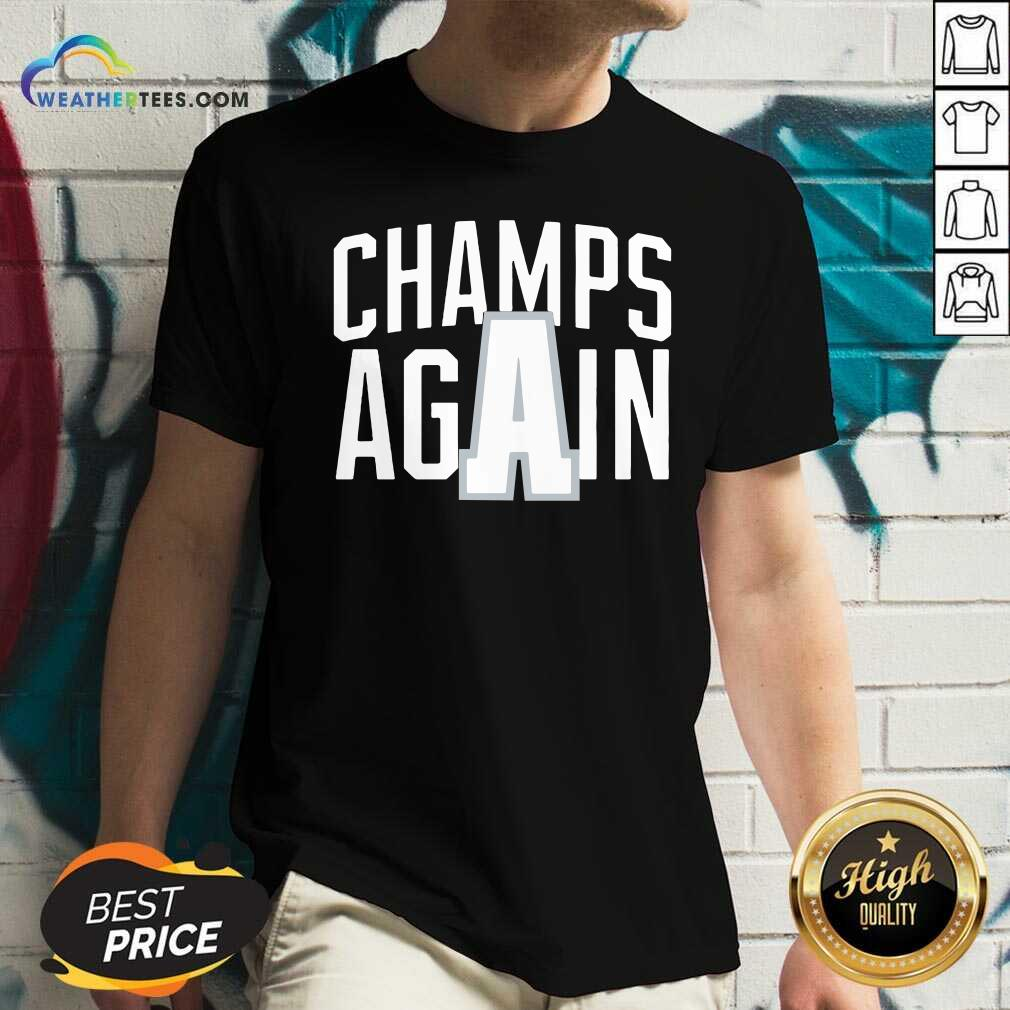 Alabama Champs Again V-neck - Design By Weathertees.com