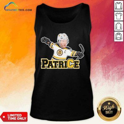 Captain Patrice Boston Bruins V-neck - Design By Weathertees.com