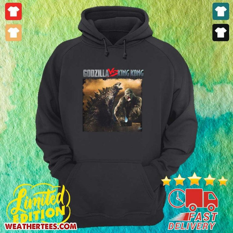 Godzilla Vs Kong 55th Anniversary 1966 2021 Thank You For The Memories Signatures Hoodie - Design By Weathertees.com