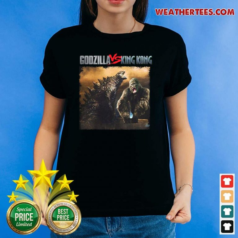 Godzilla Vs Kong 55th Anniversary 1966 2021 Thank You For The Memories Signatures Ladies-tee - Design By Weathertees.com