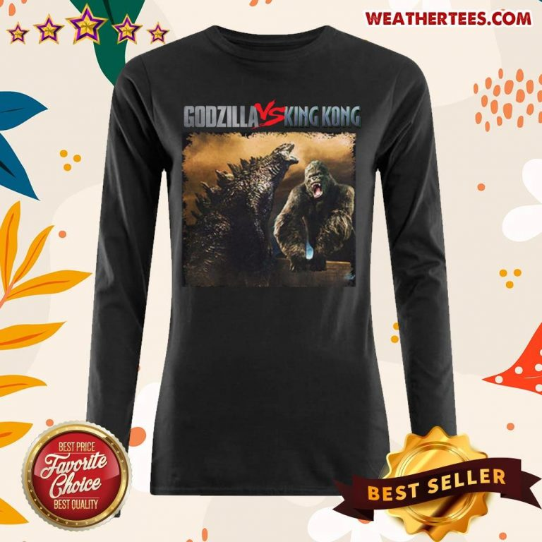 Godzilla Vs Kong 55th Anniversary 1966 2021 Thank You For The Memories Signatures Long-sleeved - Design By Weathertees.com