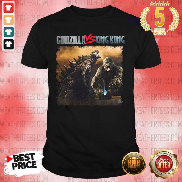 Godzilla Vs Kong 55th Anniversary 1966 2021 Thank You For The Memories Signatures Shirt - Design By Weathertees.com