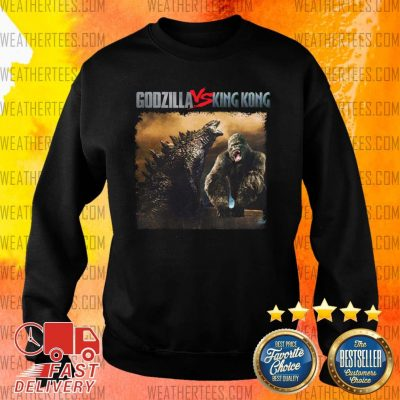 Godzilla Vs Kong 55th Anniversary 1966 2021 Thank You For The Memories Signatures Sweater - Design By Weathertees.com