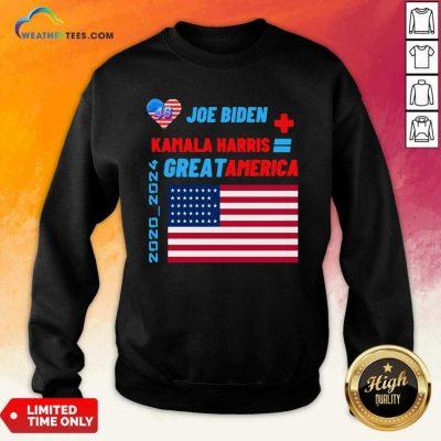 Joe Biden Kamala Harris 2021-46 President Iam Speaking Us 2021 Sweatshirt - Design By Weathertees.com