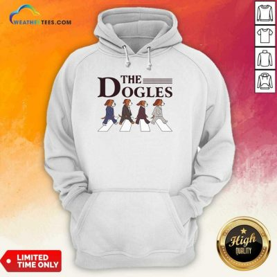 The Dogles Abbey Road Hoodie - Design By Weathertees.com
