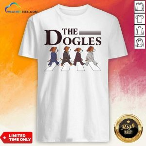 The Dogles Abbey Road Shirt - Design By Weathertees.com