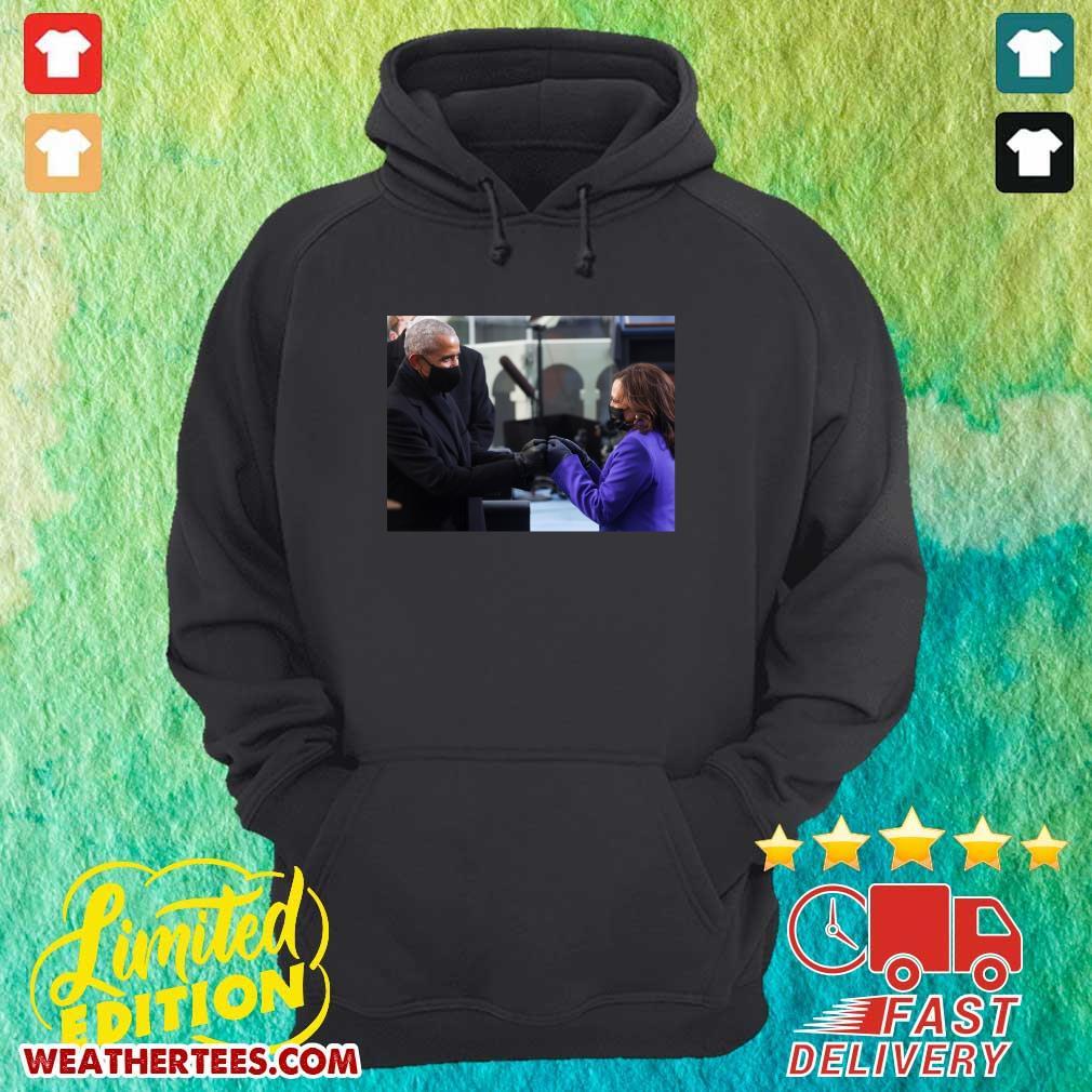 Barack Obama And Kamala Harris Hoodie - Design By Weathertees.com
