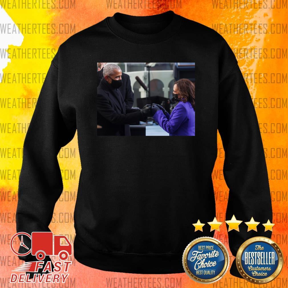 Barack Obama And Kamala Harris Sweater - Design By Weathertees.com