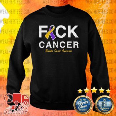 Raise Support Bladder Ribbon Cancer Awareness Pun Sweater - Design By Weathertees.com