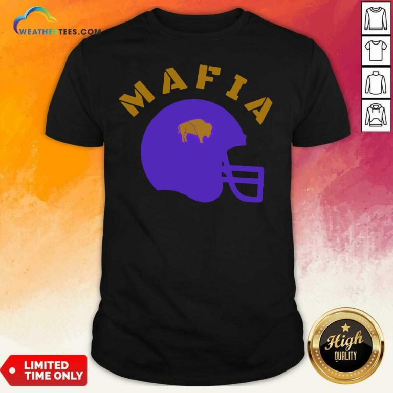 The Buffalo Bills Mafia Helmet 2021 Shirt - Design By Weathertees.com