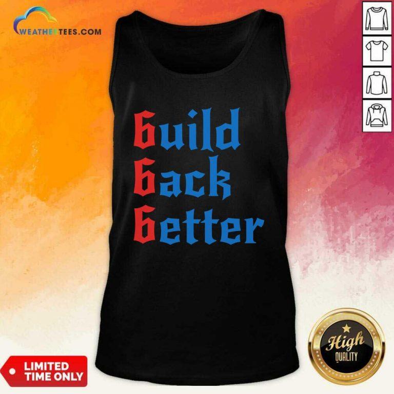 Build Back Better 666 Anti Globalist Tank Top - Design By Weathertees.com