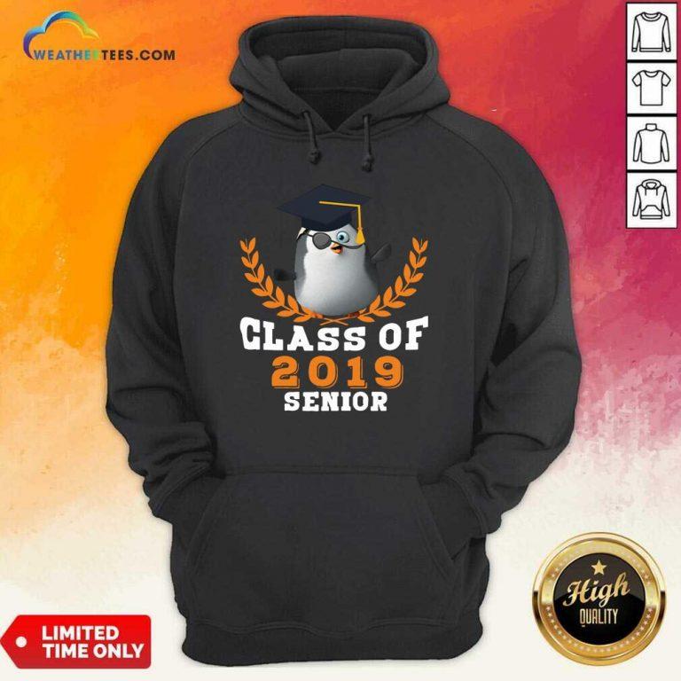 Class of 2019 Senior High School Graduation Hoodie - Design By Weathertees.com