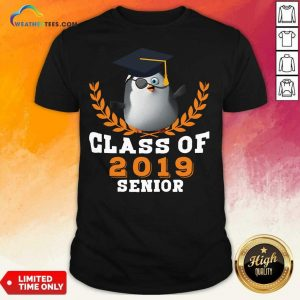 Class of 2019 Senior High School Graduation Shirt - Design By Weathertees.com