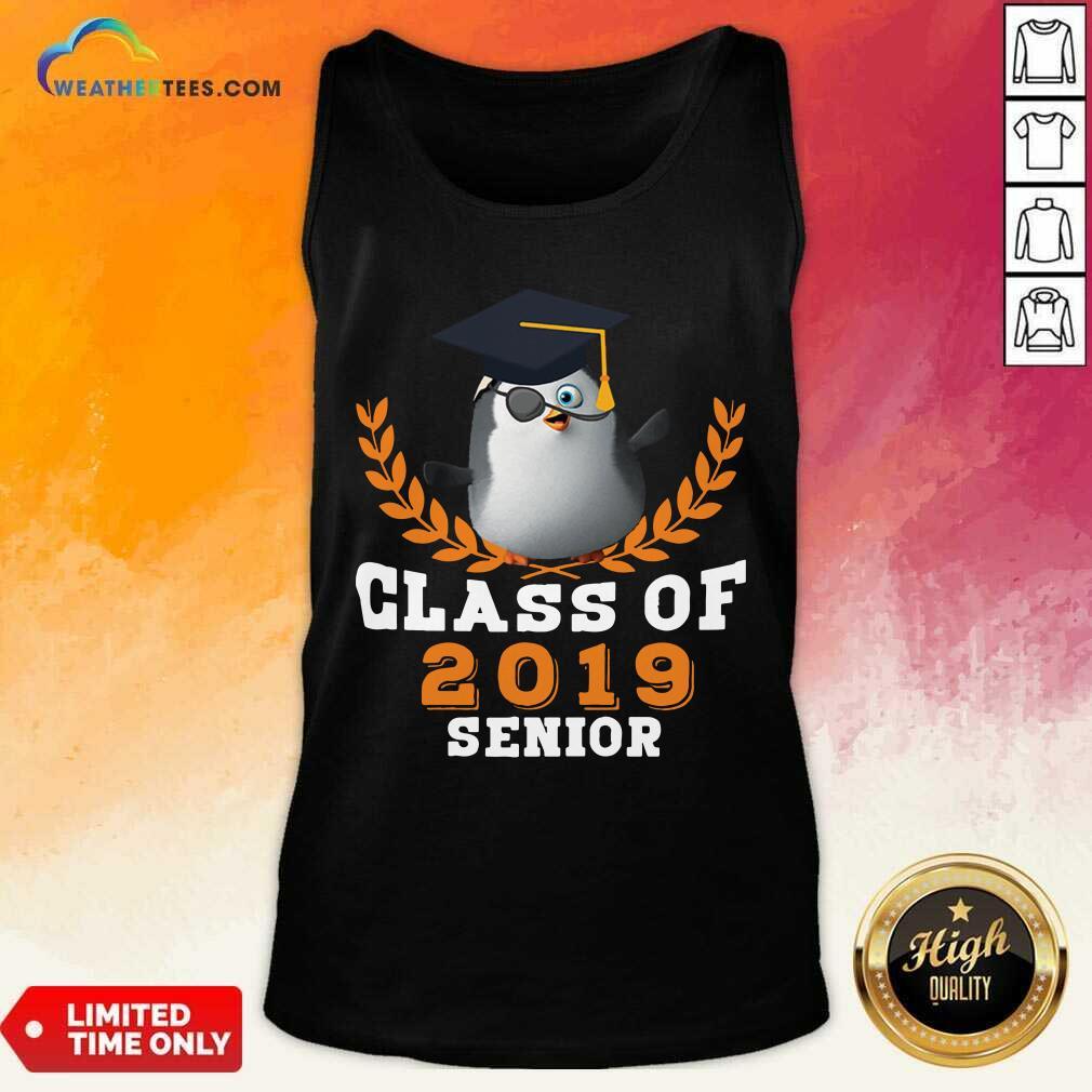 Class of 2019 Senior High School Graduation Tank Top - Design By Weathertees.com
