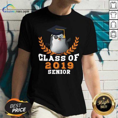 Class of 2019 Senior High School Graduation V-neck - Design By Weathertees.com