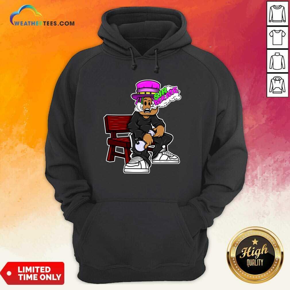 Sir Meme Hoodie - Design By Weathertees.com