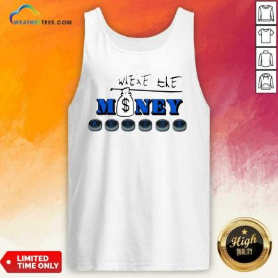 Where The Money Reside Tank Top - Design By Weathertees.com