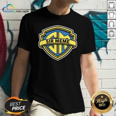 Sir Meme Store V-neck - Design By Weathertees.com