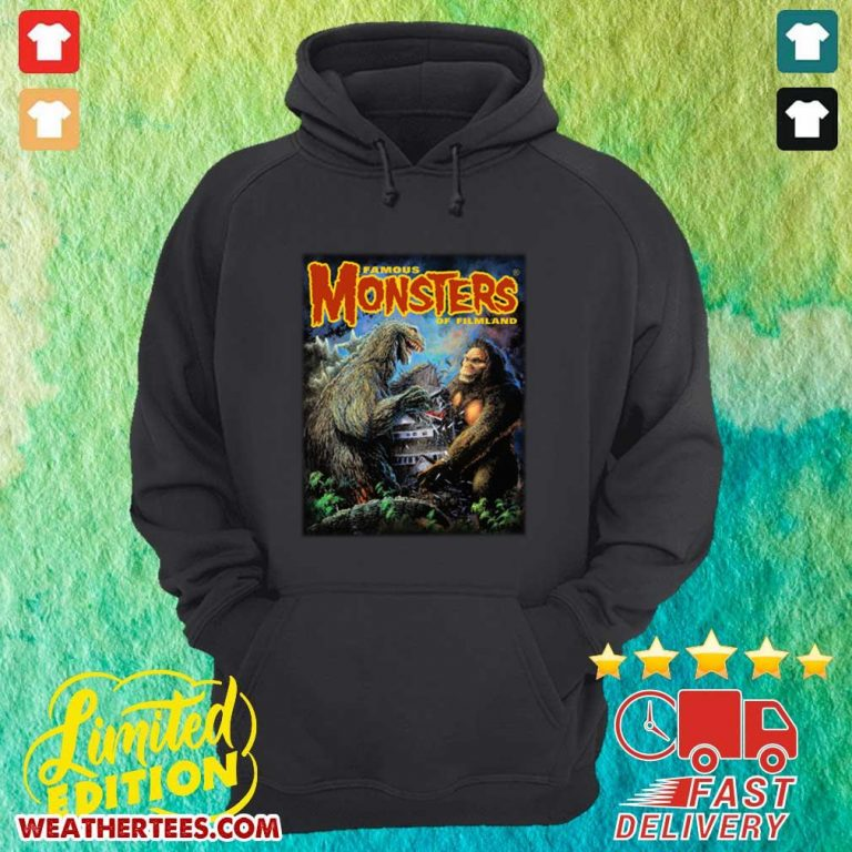 The Godzilla Vs Kong Hoodie - Design By Weathertees.com