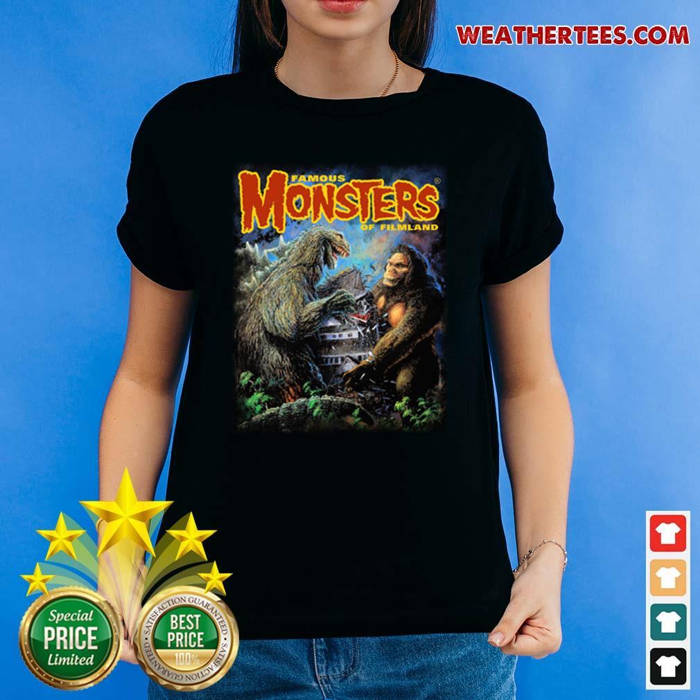 The Godzilla Vs Kong Ladies-tee - Design By Weathertees.com