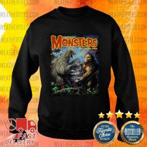 The Godzilla Vs Kong Sweater - Design By Weathertees.com