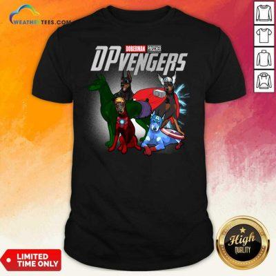 Dobeman Pincher Marvel Avengers DPvengers Shirt - Design By Weathertees.com